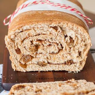 Cinnamon Swirl Spelt Bread.