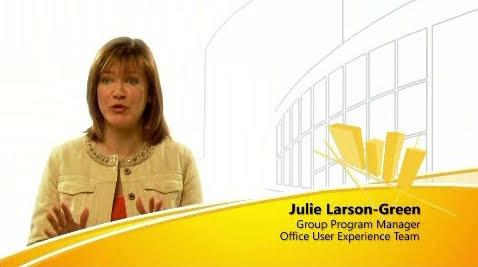MS 오피스 2007의 새로운 사용자 인터페이스 투어 비디오