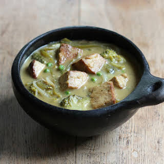 Tofu Thai Green Curry.