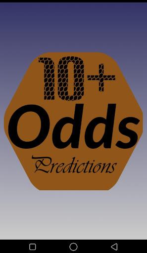10+ odds predictions screenshot 1