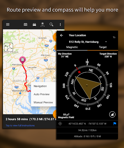 Driving Route Finderu2122 - Find GPS Location & Routes 2.4.0.3 screenshots 5