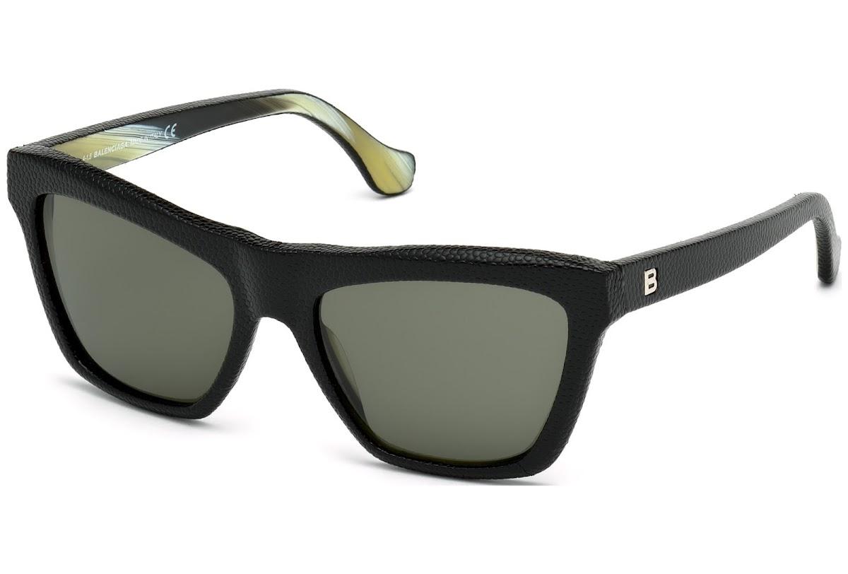 2328abbc1c Acquistare Occhiali da sole Balenciaga BA0057 C56 05N (black/other ...