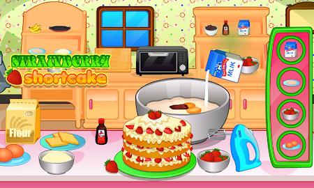 Cooking strawberry short cake 2.0.8 screenshot 714285