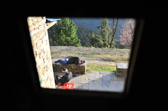 Photo: 2日目はセテ、というあたりで泊まる