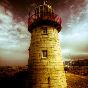 Dramatic Lighthouse by Luca Libralato - Landscapes Travel