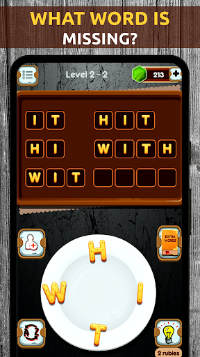 Mind Game - Word Connect Cookies Chef apkpoly screenshots 3