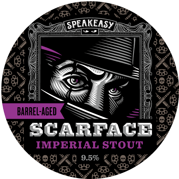 Logo of Speakeasy Barrel-Aged Scarface Imperial Stout