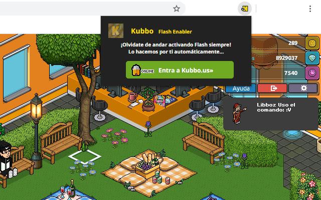 Kubbo Flash Enabler