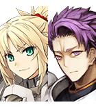 モードレッド&剣ランスロット