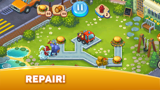 City Rescue Team: Time management game 1.6.0 screenshots 2