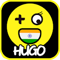 Hugo -  Indian Hago Play with Games New Friends icon