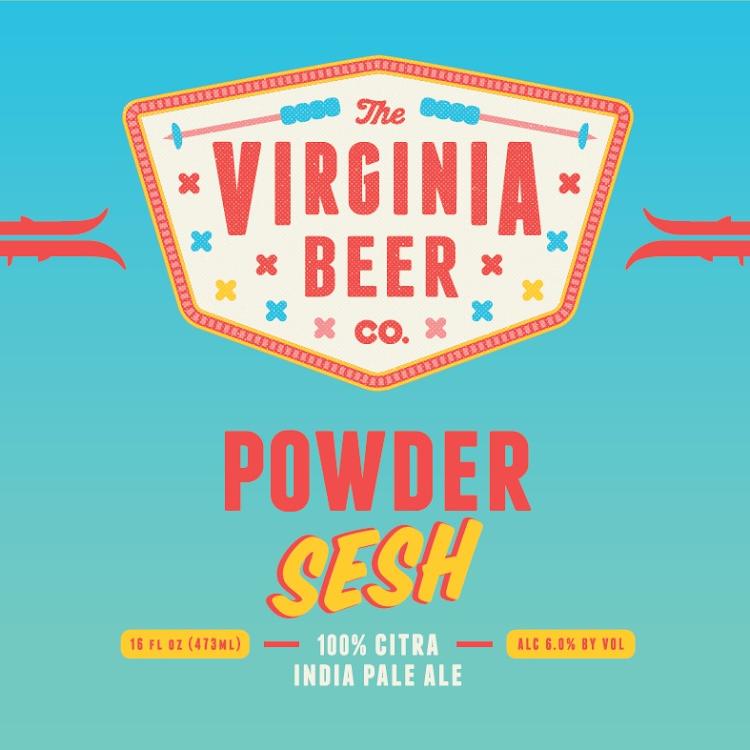 Logo of Virginia Beer Co. Powder Sesh