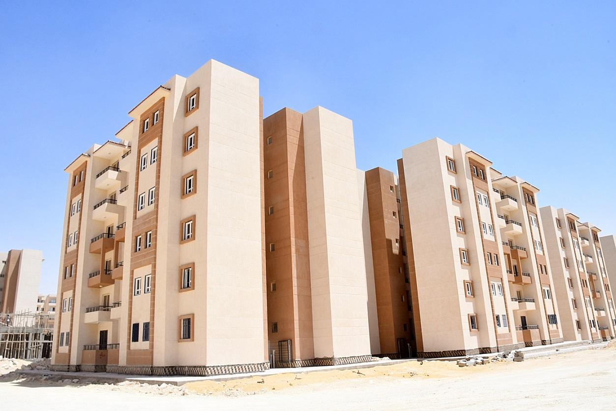شقق الإسكان الاجتماعي بمدينة برج العرب الجديدة
