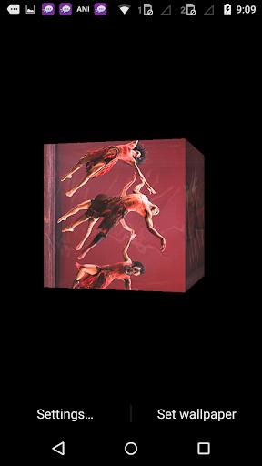 Dance cube 3d Live wallpaper