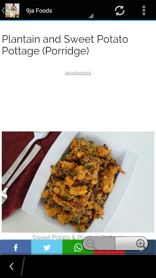 Nigerian food recipes android apps on google play nigerian food recipes screenshot forumfinder Gallery