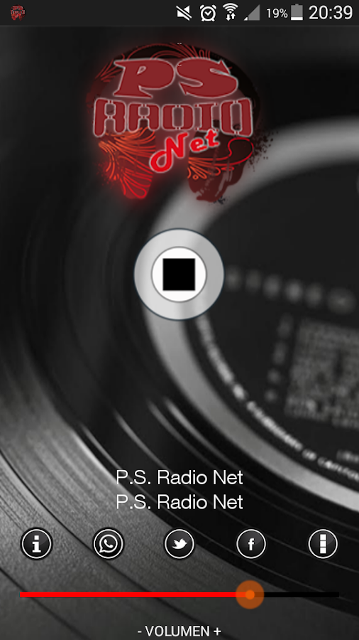 PS Radio Net- screenshot
