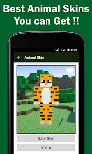 Animal Skins For Minecraft PE Apps En Google Play - Skins para minecraft pe de animales