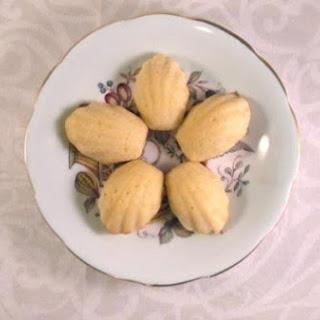 Lemon Glazed Madeleine