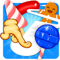 Follow the Line 3 - Sweets Rush 2D Deluxe icon