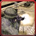 Gunship commando air attack icon