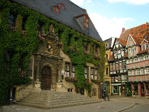 Photo: Ratusz w Quedlinburgu