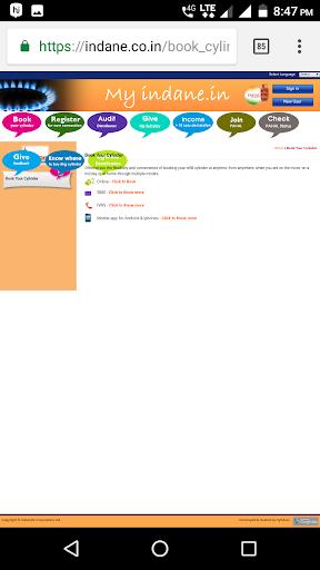 LPG Gas Booking 1.0 screenshots 6