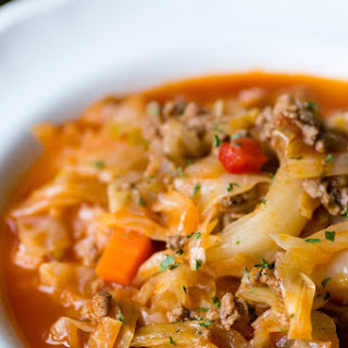 Sarma {Cabbage Roll} Soup Recipe
