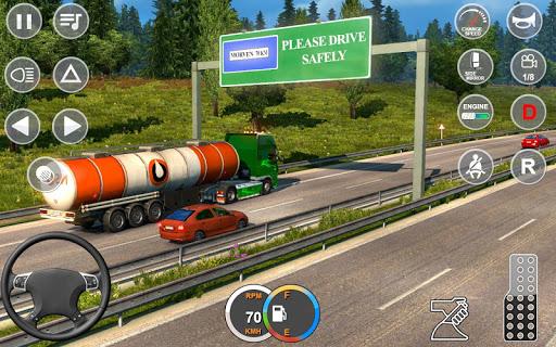 Indian Mountain Heavy Cargo Truck : Euro Truck Sim apkmr screenshots 9