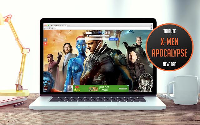 X-Men: Apocalypse New Tab