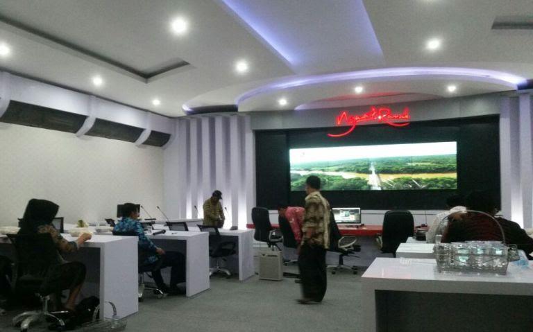 Ruang Publik Ngawi Command Center Telan Anggaran Hampir 2 M