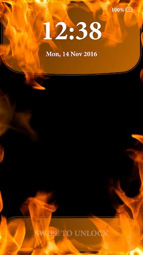 Fire Lock Screen 2.4 screenshots 1