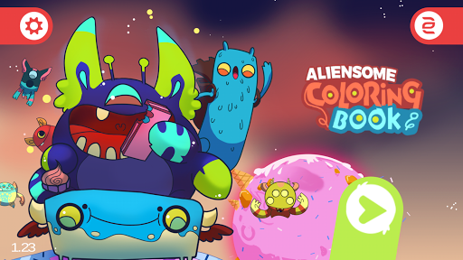 Aliensome Coloring Book Free Apps Apk Download For Android PC