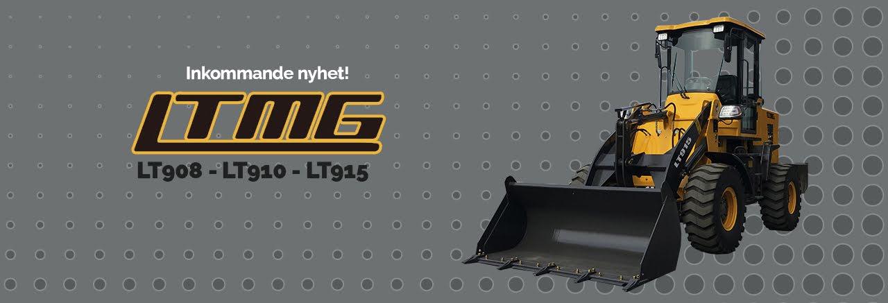 Hjullastare från LTMG - LT908 - LT910 - LT915
