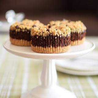 Chocolate Pumpkin Tartlet Cupcakes