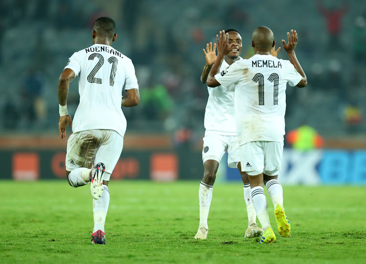 Ja' obviously we wan to win the league'' says Orlando Pirates