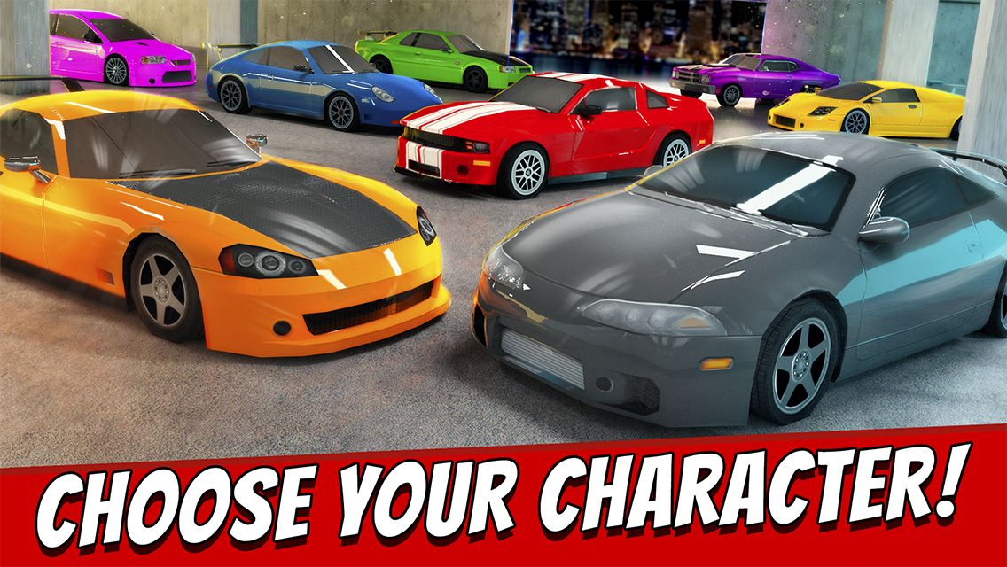 extreme fast car racing game screenshot