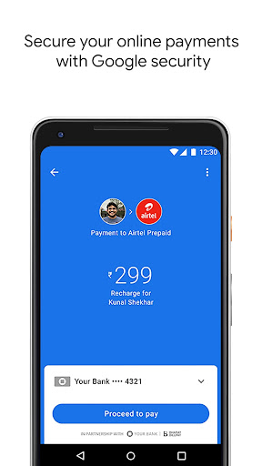 Google Pay (Tez) - a simple and secure payment app screenshot 4