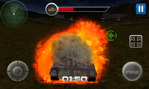 Modern Tank Striker 3D screenshot