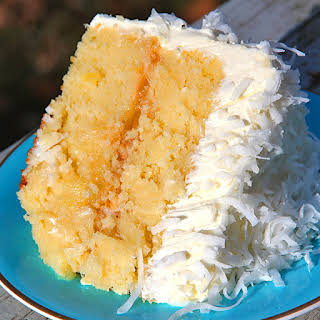 Coconut Pineapple Cake.
