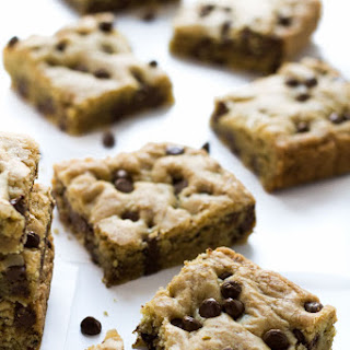 Coconut Oil Chocolate Chip Cookie Bars.