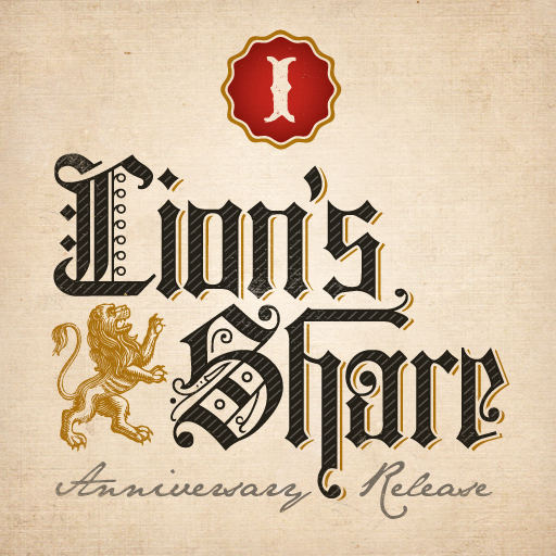 Logo of Lakewood Lion's Share I: Anniversary Ale