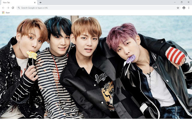 Suga & Jungkook BTS Wallpapers and New Tab