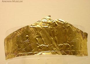 Photo: Gouden diadeem