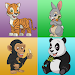 Memory game animals icon