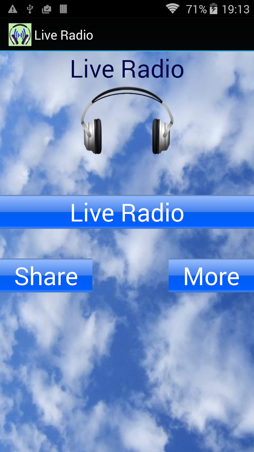 Live Radio- screenshot
