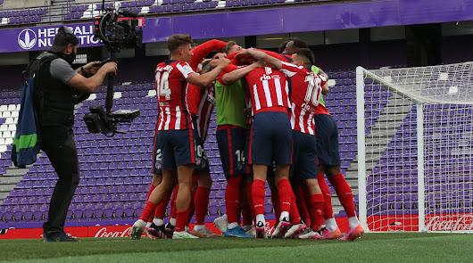 La Liga se va a Neptuno con el Atlético de Madrid