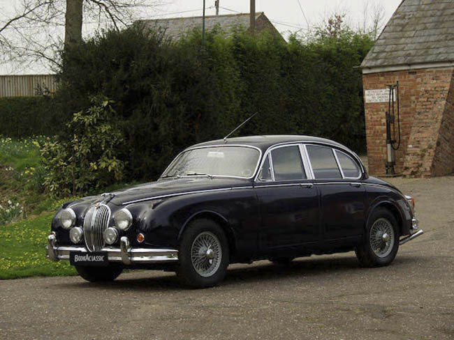 Jaguar Mk2 3.8 Hire London