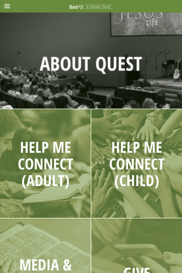 Quest Vineyard Church- screenshot