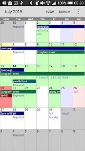 Calendar Pad Pro- screenshot thumbnail