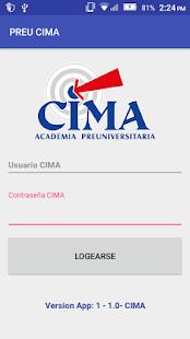 CIMA PREU - náhled